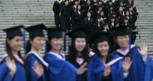 Still the rising star. Three Chinese universities are now in the top 200. Wu Hong/EPA