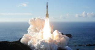 Rocket carrying the Hope probe. MITSUBISHI HEAVY INDUSTRIES HAND/EPA