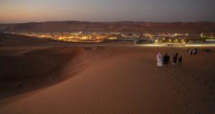Shaybah oilfield in Rub Al-Khali, Saudi Arabia. Valdrin Xhemaj/EPA