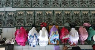 Women pray at a mosque during the first day of the holy fasting month of Ramadan on May 6 in Bali, Indonesia. AP Photo/Firdia Lisnawati