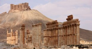 The ancient city of Palmyra. Ulrich Waack, CC BY-SA