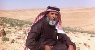 The Bedouin poet Muhammad Fanatil al-Hajaya. Author provided