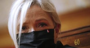 France's Marine Le Pen has failed to make an impact during the pandemic. EPA/Yoan Valat