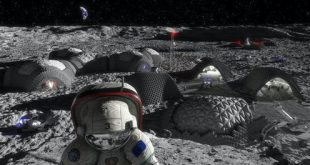 Illustration of a future Moon base by the European Space Agency, which hasn't signed the Artemis Accords. ESA; RegoLight, visualisation: Liquifer Systems Group, 2018, CC BY-SA
